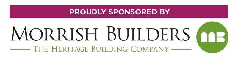Morrish Builders Sponsored By Logos (2 Styles & Colours)